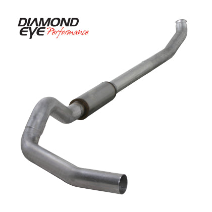 "Diamond Eye K5238A Aluminized 5"" Turbo Back Exhaust W/ Muffler 04.5-09 Cummins"