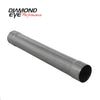 "Diamond Eye 510220 5"" Muffler Delete Pipe, 30"" length - Universal"