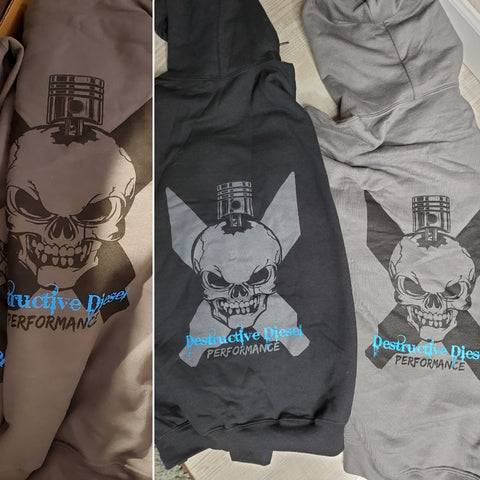 Destructive Diesel Hoodies
