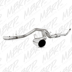 "MBRP 4"" Turbo Back, Cool Duals™ (4WD only), T409 94-02 Cummins"