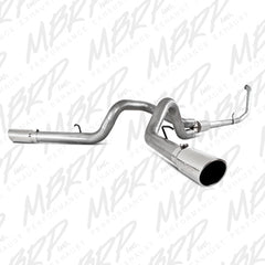 "MBRP 4"" Turbo Back, Cool Duals™, AL 99-03 Powerstroke"