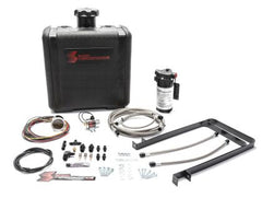 Snow Performance SNO-430-BRD STAGE 2 BOOST COOLER™ WATER-METHANOL INJECTION KIT DURAMAX (STAINLESS STEEL BRAIDED LINE, AN FITTINGS)