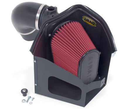 Airaid 300-209 CAD Intake System w/ Tube (Oiled / Red Media) 07-09 Cummins