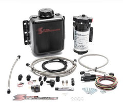 Snow Performance SNO-301-BRD STAGE 1 BOOST COOLER™ WATER-METHANOL INJECTION KIT (STAINLESS STEEL BRAIDED LINE, AN FITTINGS)