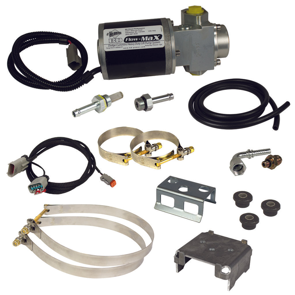 BD Diesel 1050312D Flow-MaX Fuel Lift Pump 13-17 Cummins