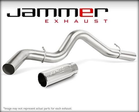 "Edge 37774 4"" Single Jammer Exhaust 07-13 Cummins"