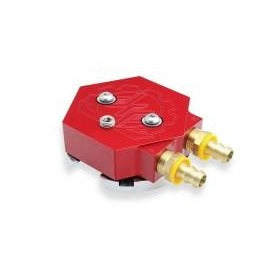 Deviant 60208 Return Fuel Tank Sump (RED) - Universal