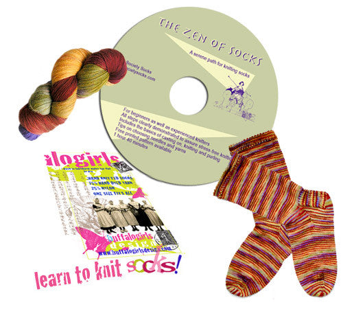 How to Knit Socks DVD - The Zen of Socks