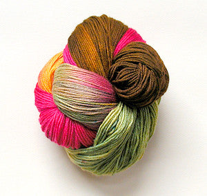 Sock Yarn Hand Dyed #156
