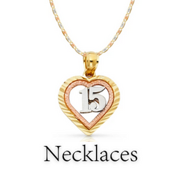 quinceanera necklaces gift for her/girl