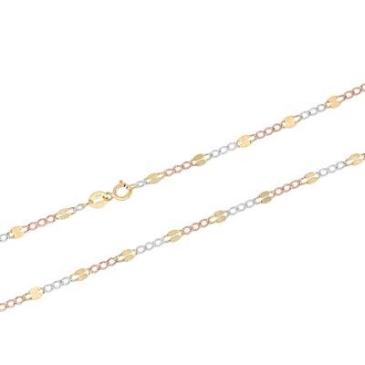figaro Chain with spring-ring