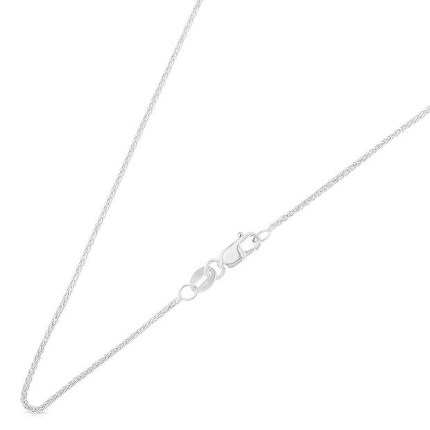 14K Gold 1.1mm Wheat Chain
