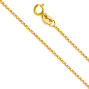 rolo Chain with spring-ring