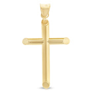 Faith Necklace gold cross pendant religious Christian Jewelry Church Confirmation baptism Gift