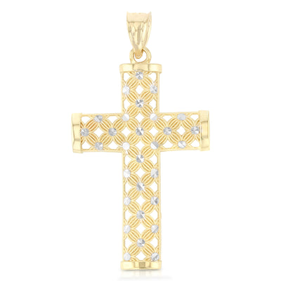Fancy Cross Pendant for Necklace or Chain