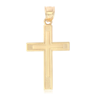 Simple Cross Pendant for Necklace or Chain