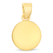 gold miraculous medal Religious catholic christian gold chain layering coin necklace for Women girls