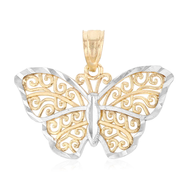 Butterfly Pendant for Necklace or Chain