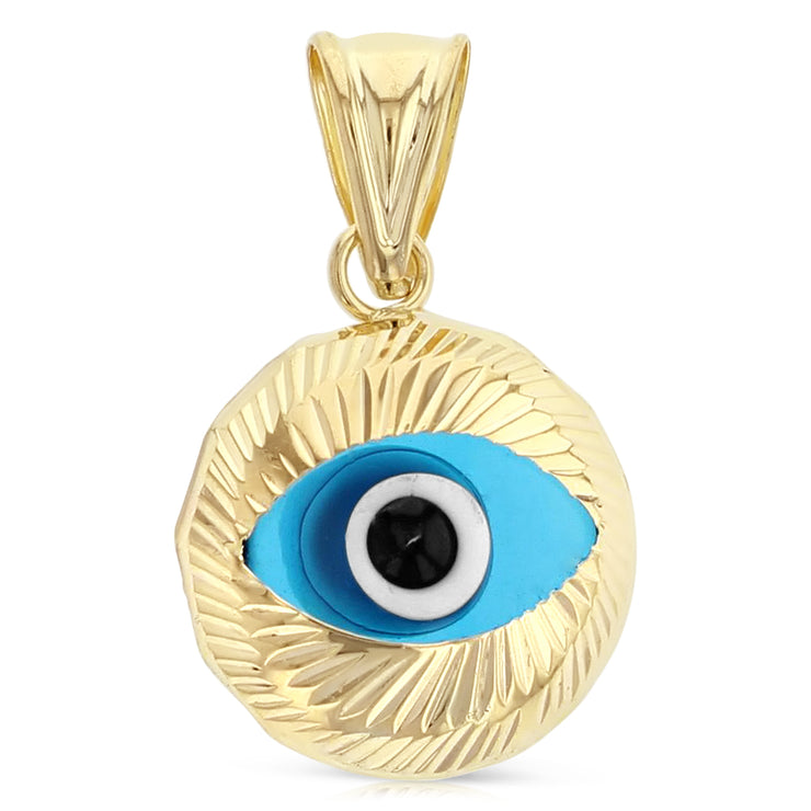 Evil Eye Pendant for Necklace or Chain