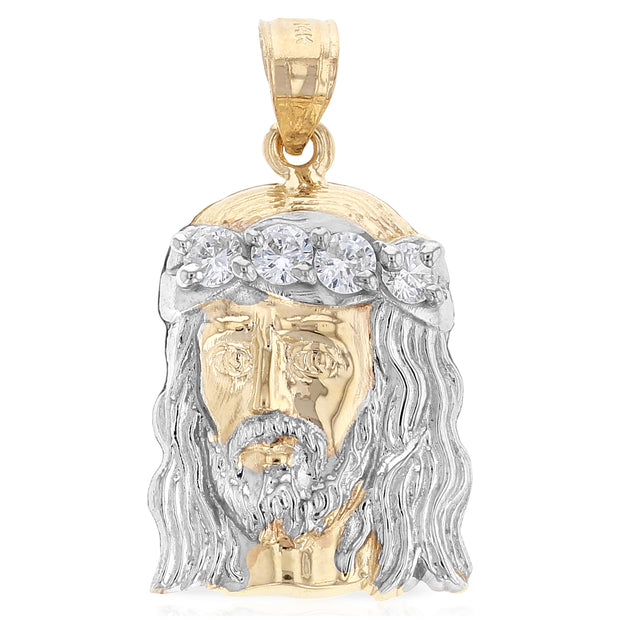 Jesus Head Pendant for Necklace or Chain