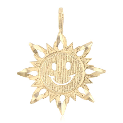 Sun Pendant for Necklace or Chain