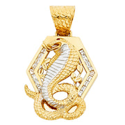 Viper Snake Pendant Pendant for Necklace or Chain