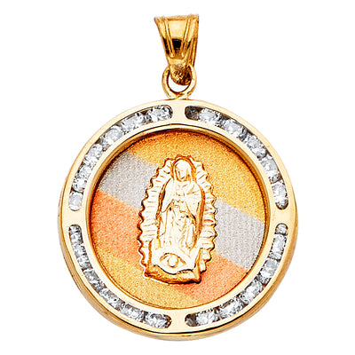 Guadalupe Pendant for Necklace or Chain
