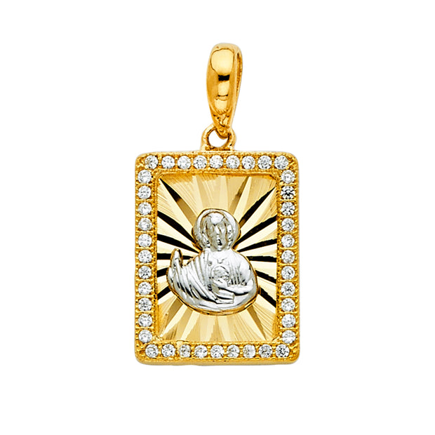 Saint Jude Pendant for Necklace or Chain