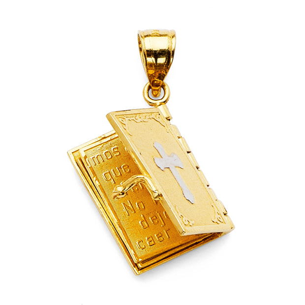 Bible book Pendant for Necklace or Chain