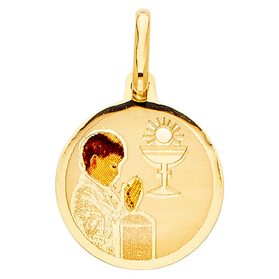 Baptism Pendant for Necklace or Chain