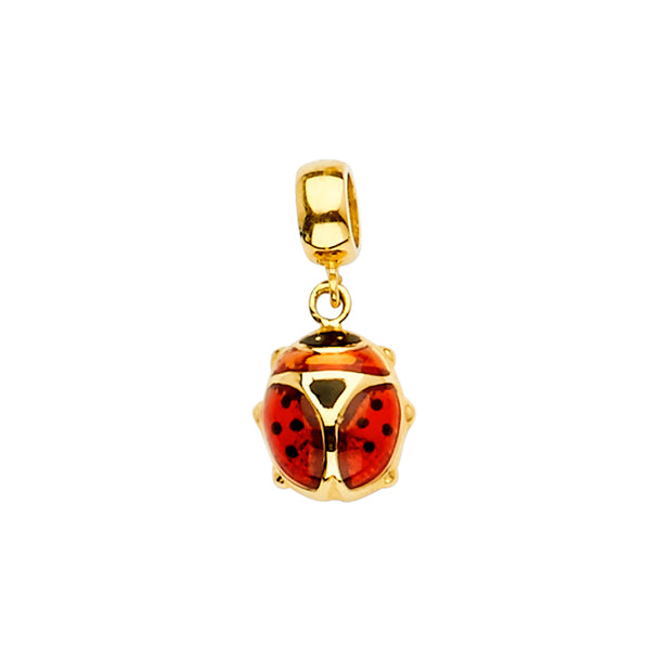 Lady Bug Pendant for Necklace or Chain