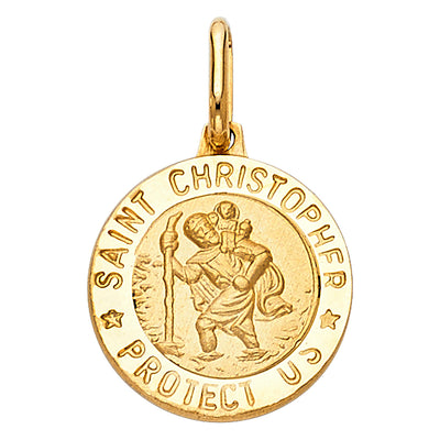 St. Christopher Pendant for Necklace or Chain