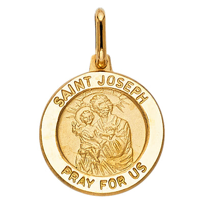 St. Joseph Pendant for Necklace or Chain