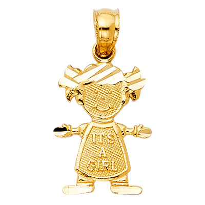 Girl pendant Pendant for Necklace or Chain