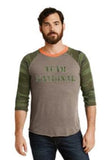 Alternative Eco-Jersey™ Baseball T-Shirt - Camo