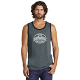 Alternative Rebel Jersey Tank - Heather Deep Charcoal/Black