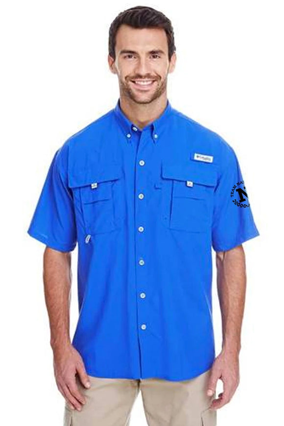 Columbia Men's Bahama™ II Short-Sleeve Shirt - Blue