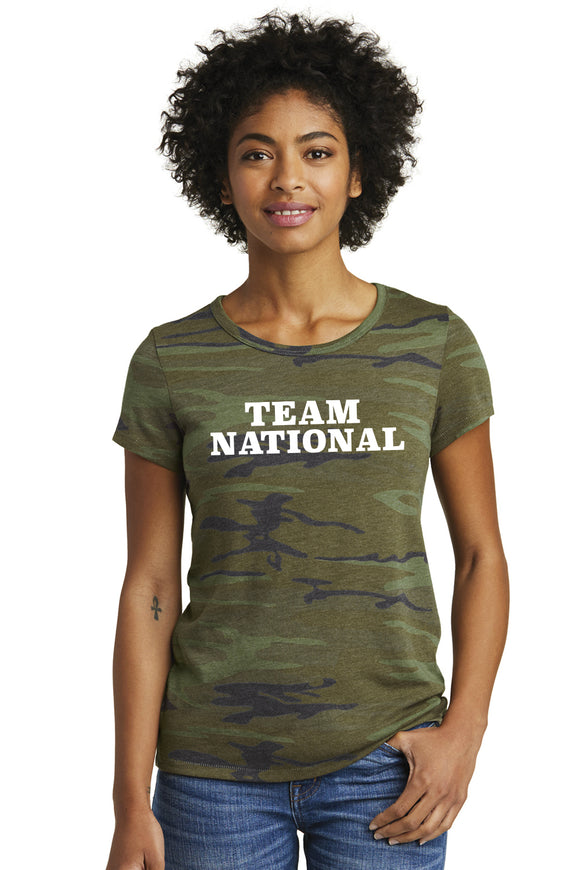Alternative Eco-Jersey Ideal Tee - Green Camo
