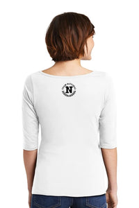 Perfect Weight 3/4 Sleeve - Bright White