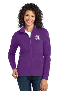 Port Authority Ladies Microfleece Jacket - Amethyst Purple