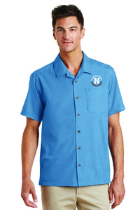 Port Authority Men's Camp Shirt - Blue