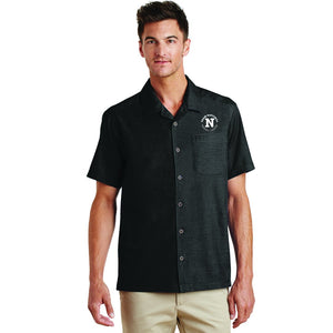 Port Authority Men's Camp Shirt - Black