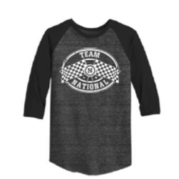 Alternative Eco-Jersey™ Baseball T-Shirt - Black