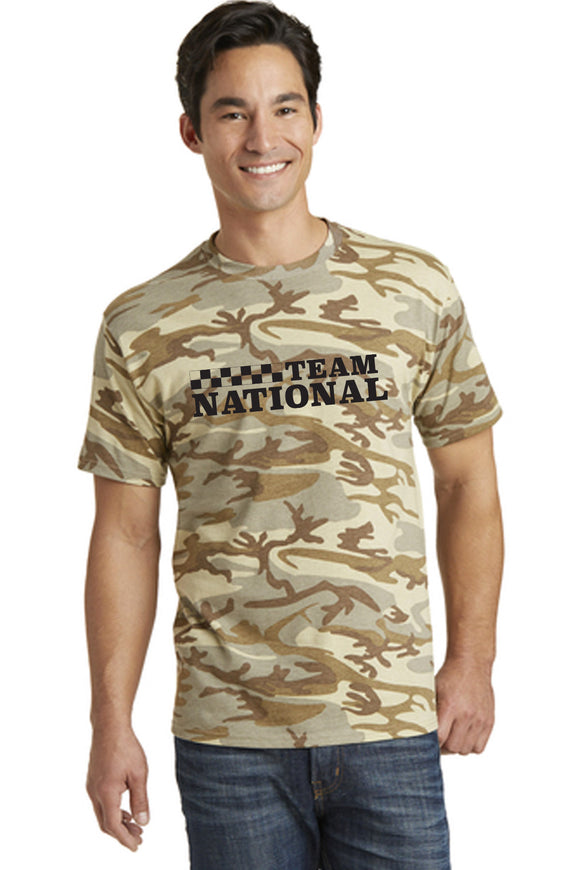 Core Cotton Camo Tee - Desert