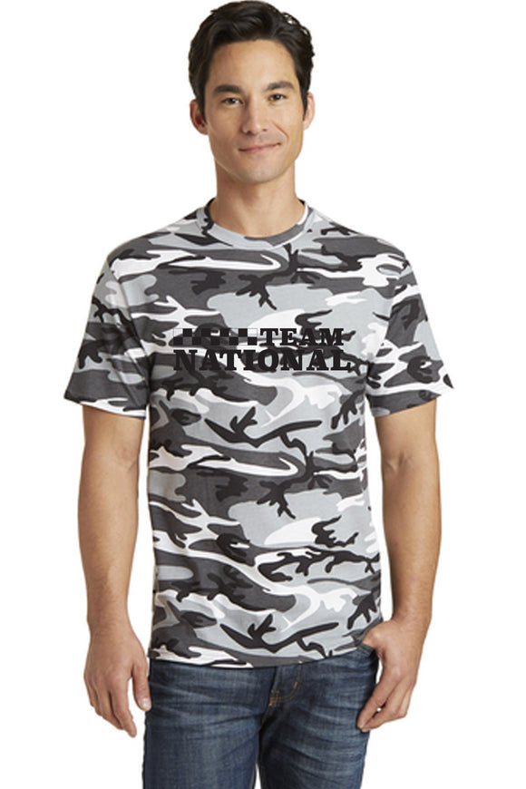 Core Cotton Camo Tee - Winter
