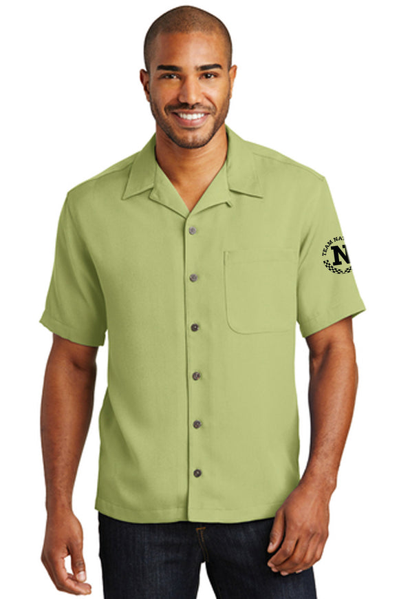 Port Authority Men's Camp Shirt - Green