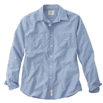 M Clearwater Roots73 LS Shirt - Blue