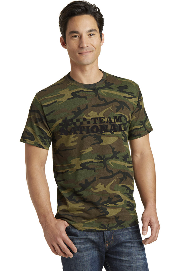 Core Cotton Camo Tee - Military