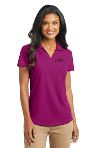 Ladies Dry Zone Grid Polo - Magenta