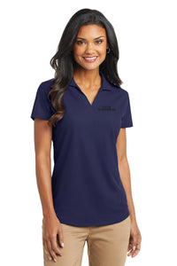 Ladies Dry Zone Grid Polo - Navy